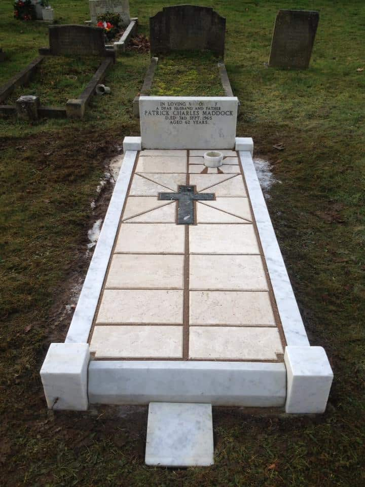 memorial and headstone cleaning