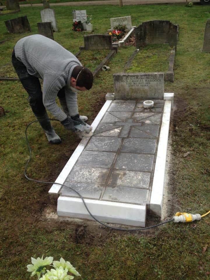 headstone restoration