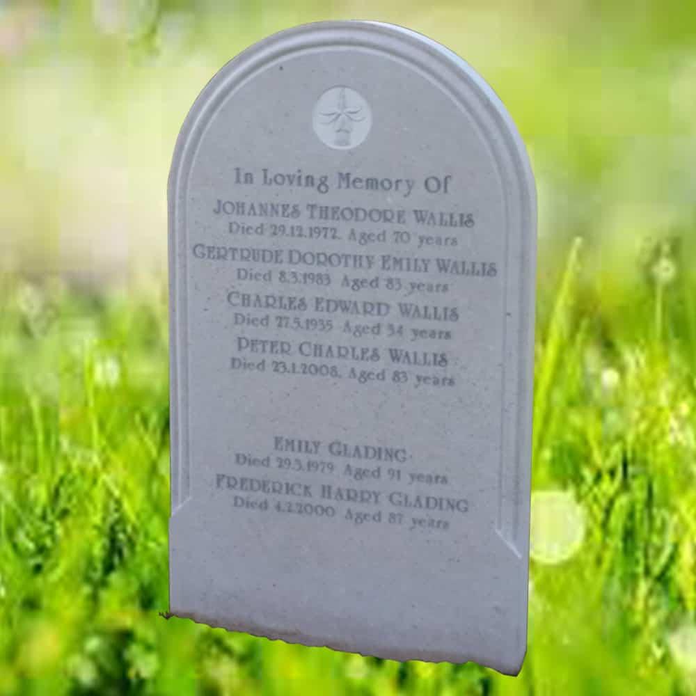churchyard headstone memorial