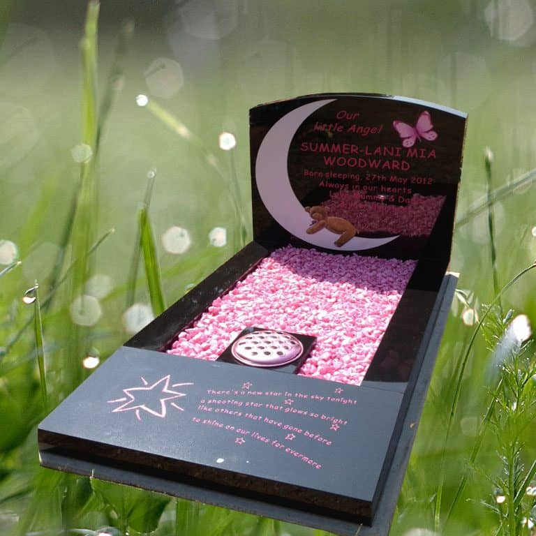childrens headstone memorial