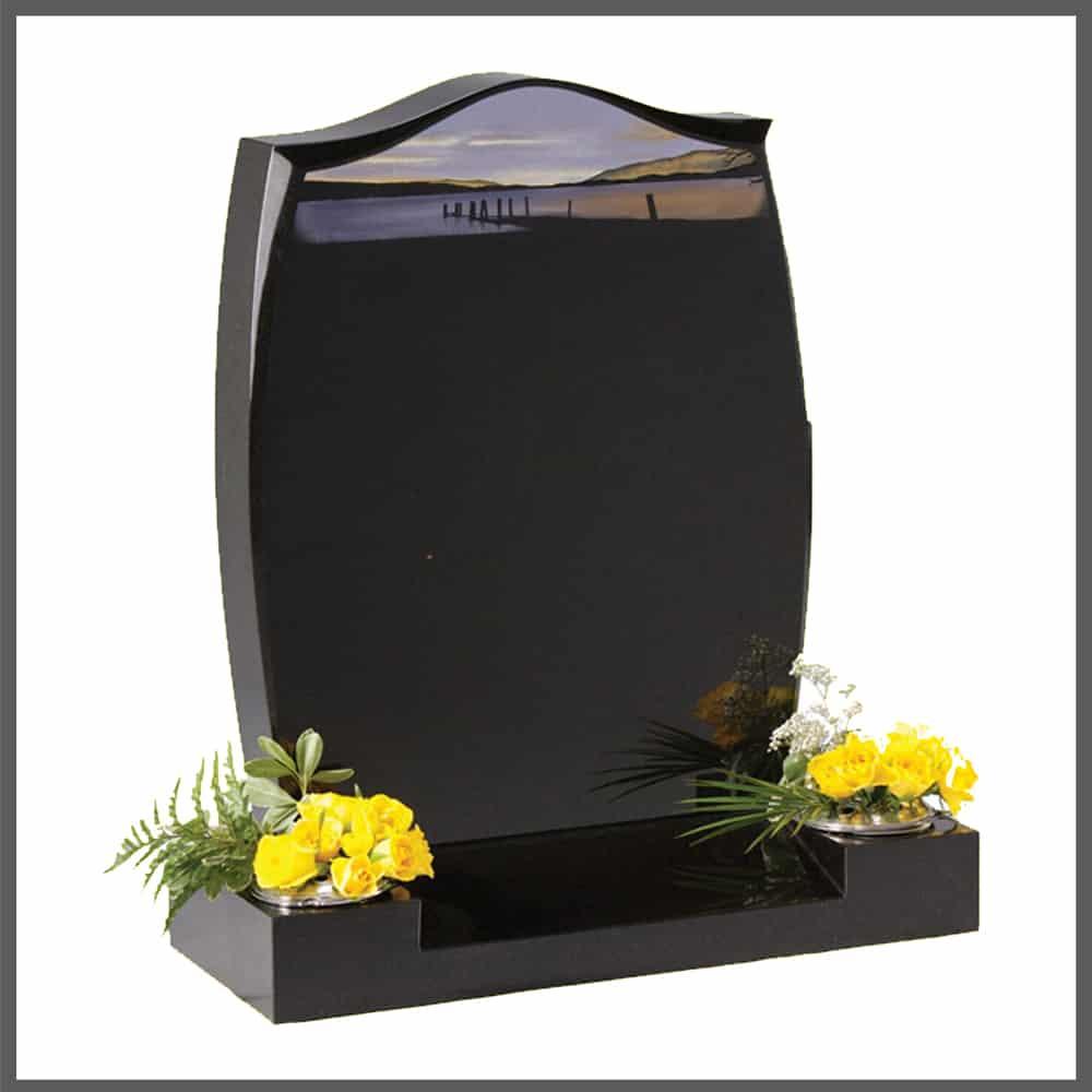 headstone memorial for cemetery